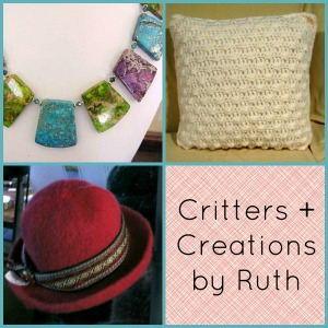 Rochester Artisans, Suzanne Martin, Spectacular 2 Designs, Ruth Espinosa-Barone, Critters + Creations by Ruth, Pat Embury, Dizzy Crafter, Melanie Steenhoff, Wooly Things
