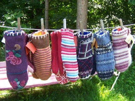 HandCandy Mittens - 2012 Award Winner, Remsen Barn Festival of the Arts; 3rd Place 2013 Keuka Arts Festival