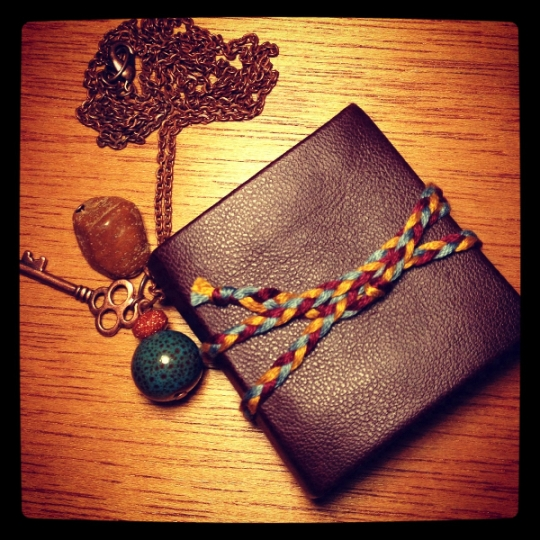 Book Necklace by Rachael Gootnick, of Just Terrific Handcrafted Goodness