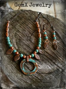 Ana Dooley GemX Necklace and Earrings