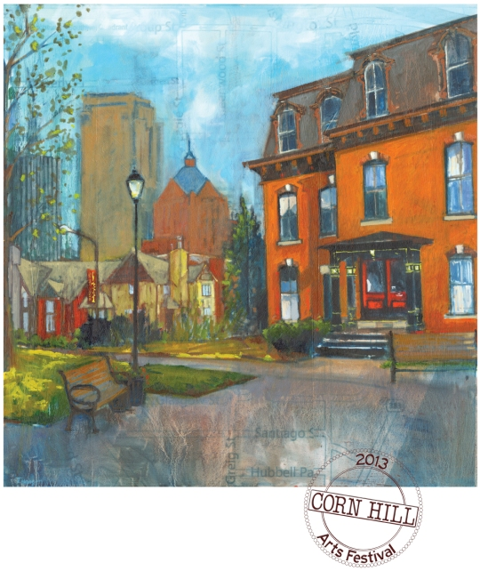 Corn Hill Arts Festival Poster 2013