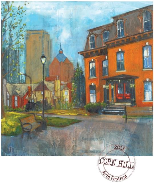 Corn Hill Arts Festival Poster 2013
