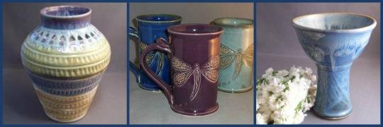Hilltop Pottery Trio