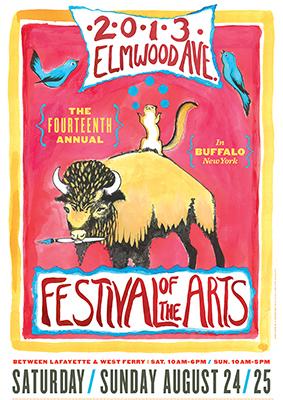 Elmwood Poster 2013