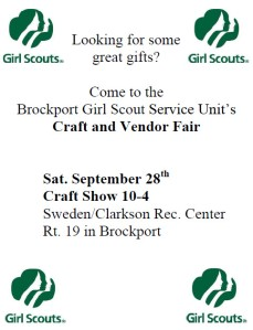 Girl Scout Show Flyer
