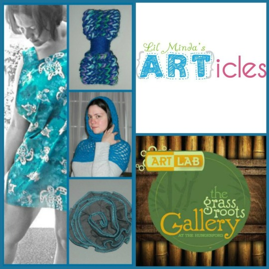 Lil Minda's ARTicles, presented by Grassroots Gallery.