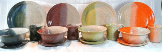 BS Pottery will be at this weekend's Hilton Apple Fest.