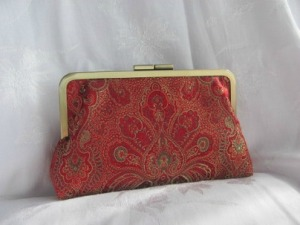Juana Morreale Damask Clutch