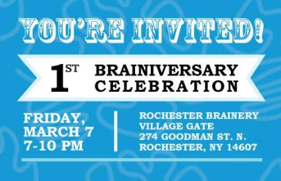 1st Brainiversary Event
