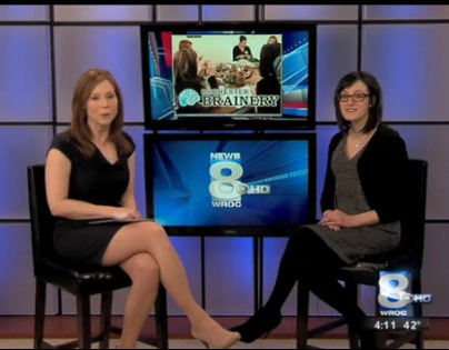 Watch co-founder Danielle Raymo talk about  Rochester Brainery!