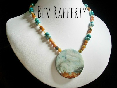 Bev Rafferty's Ocean Inspired Necklace