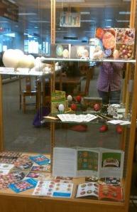 Library Display by Mia Sohn