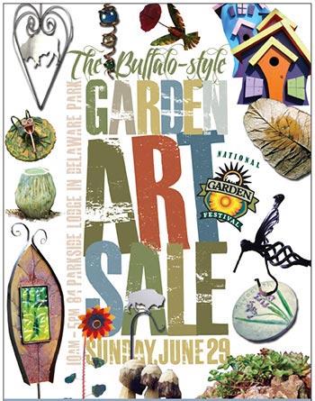 Garden-Art-Sale-2014 Poster
