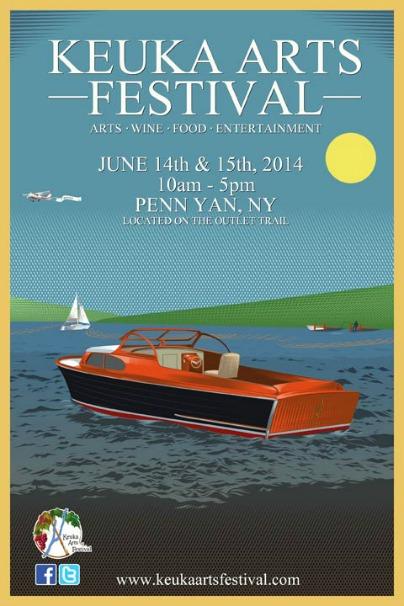 Keuka Arts Festival Poster 2014