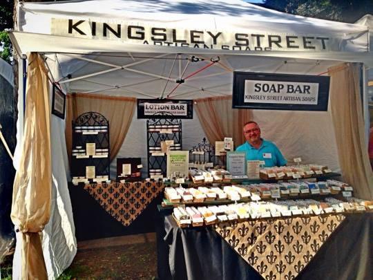 Kingsley Street Artisan Soaps Park Ave Fest 2014
