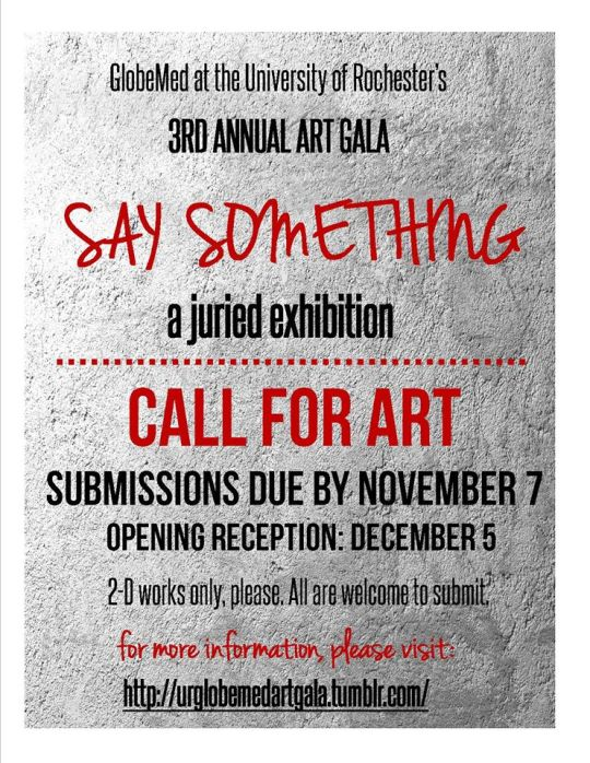 Call to Artists 2014