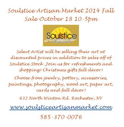 October 18 2014 Sale