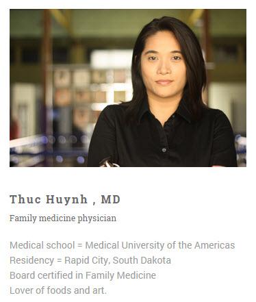 Dr Huynh Bio a