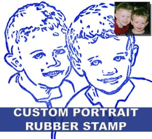 Two Little Boys Stamp