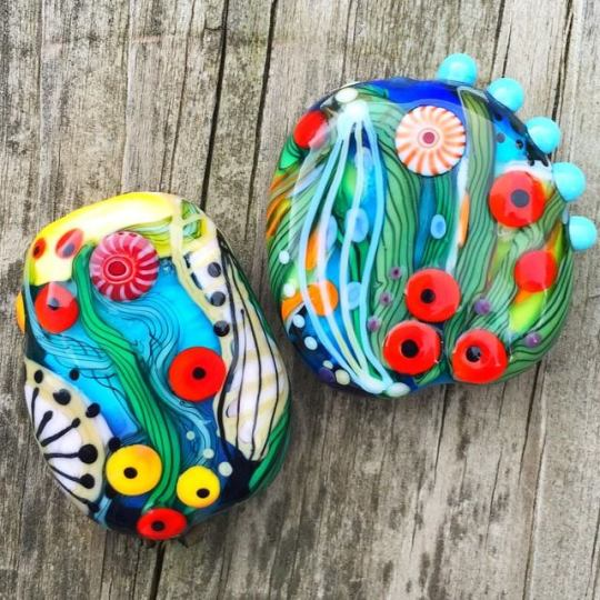 Wild & Crazy Glass Beads