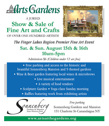 Arts at the Gardens (Sonnenberg) Poster