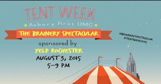 Brainer Tent Week 2015