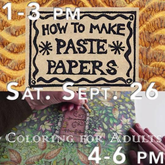 Barnes Noble Paste Paper Coloring 2