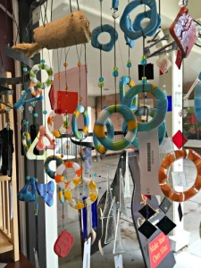 Colorful Windchimes