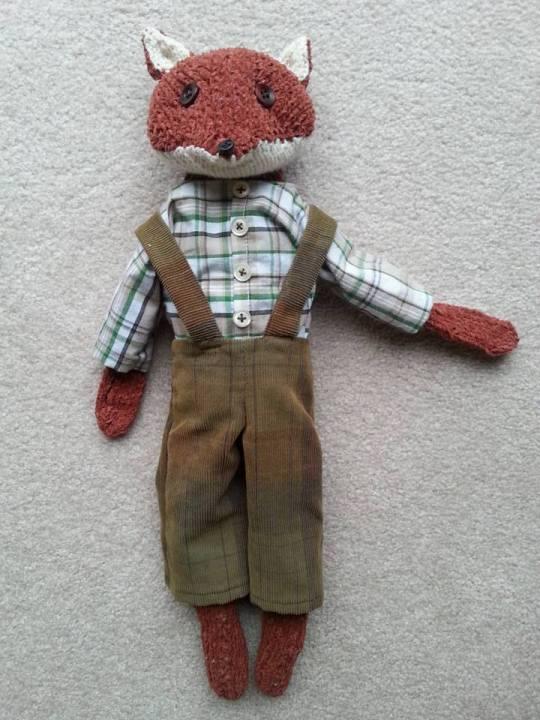 Fancy Pants Fox